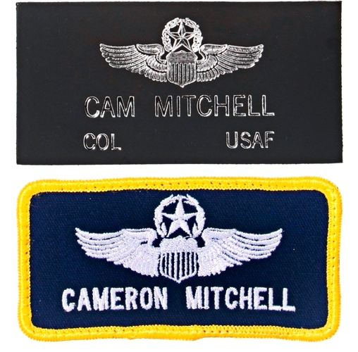 flight suit name tags air force